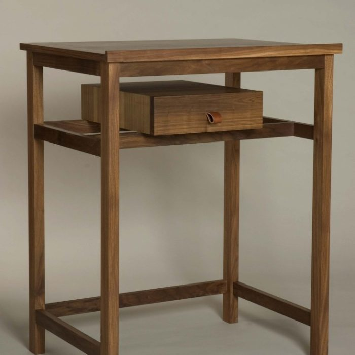 Writing desk to stand at.  Top raises as a drawing board