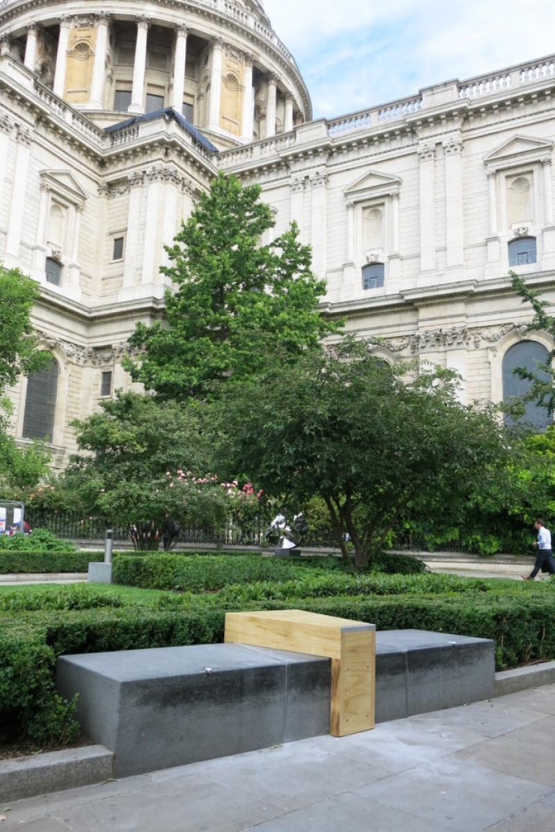 Installations at St Pauls Cathedral