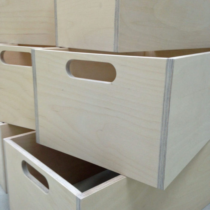 Wardrobe storage boxes